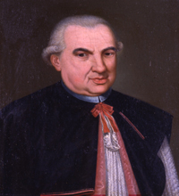 Angelo Maria Bandini. Portrait painted possibly in 1795.