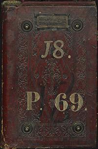 Medici binding. Firenze, Biblioteca Medicea Laurenziana, Plut. 69.18 (front cover)