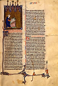 French miscellany containing 'Le trésor' by Brunetto Latini' (13th/14th cent.). Firenze, Biblioteca Medicea Laurenziana, Ashb. 125, f. 60r.